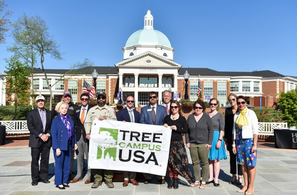 Arbor Day at High Point University
